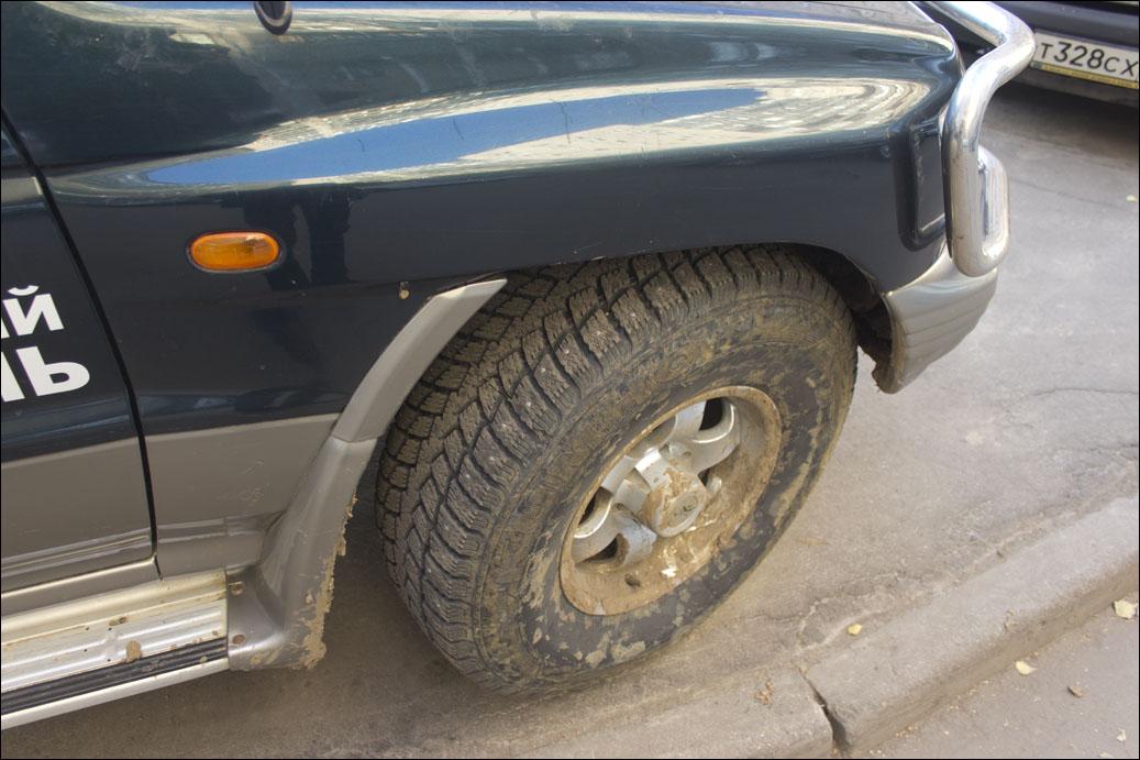 33 колеса на Pajero II